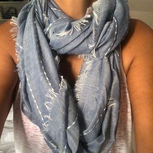 Bloomingdales scarf.